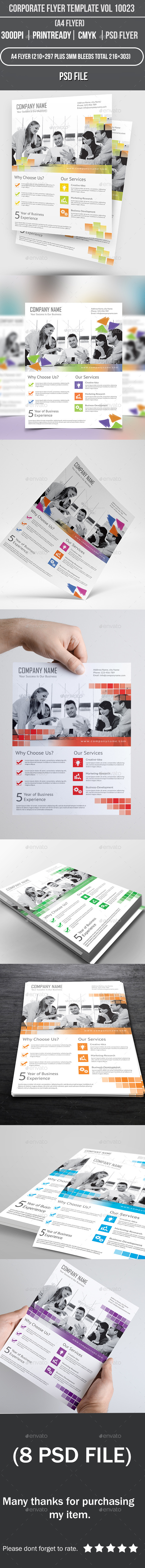 Corporate Flyer Template Vol 10023 - Corporate Flyers