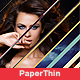 Paper Thin - VideoHive Item for Sale