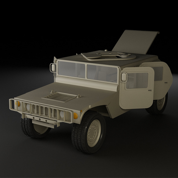 Hummer - 3DOcean Item for Sale