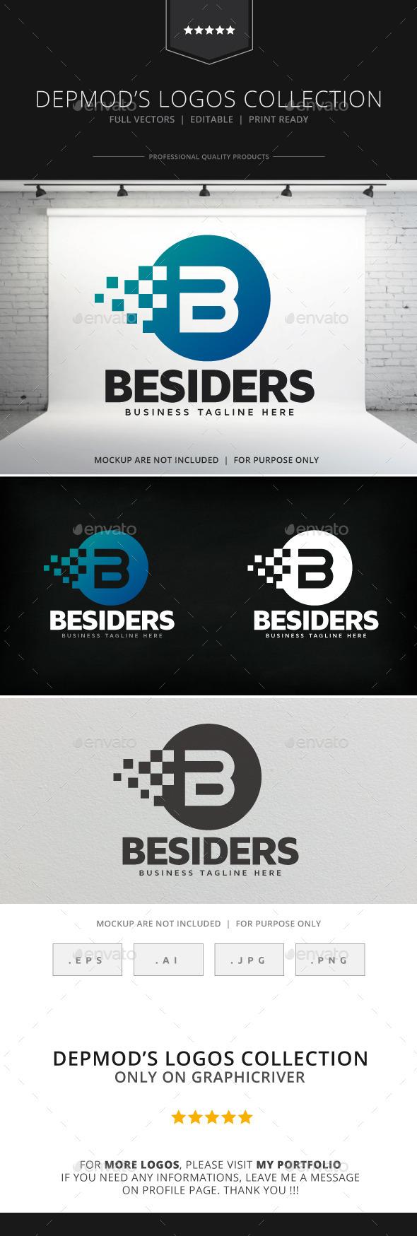 Besiders V.02 Logo - Letters Logo Templates
