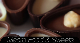 Macro Food & Sweets Collection