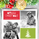 Modern Christmas Card V4 - GraphicRiver Item for Sale