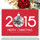 Modern Christmas Card V8 - GraphicRiver Item for Sale