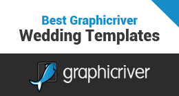Best Graphicriver Wedding Templates