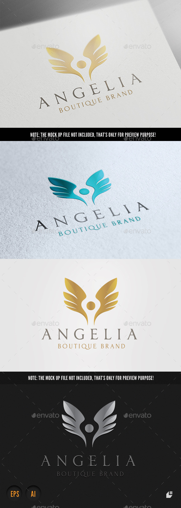 Boutique Brand - Crests Logo Templates