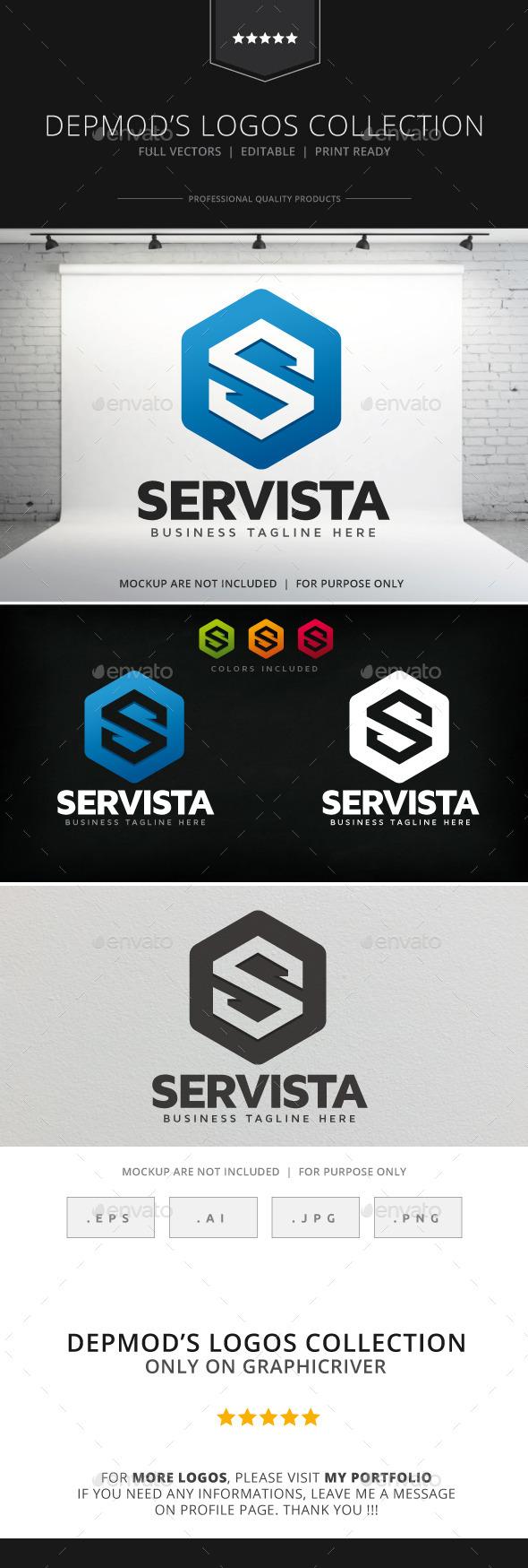 Servista Logo - Letters Logo Templates