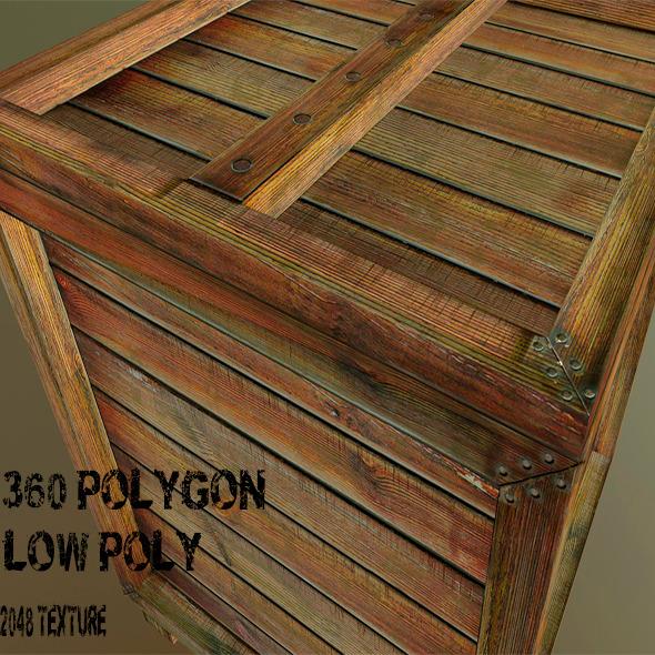 OldBox - 3DOcean Item for Sale