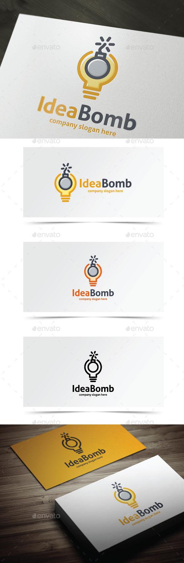 Idea Bomb - Objects Logo Templates