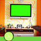 Watching TV Green Screen - VideoHive Item for Sale