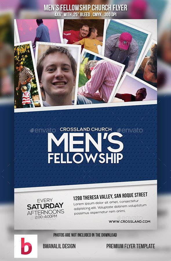 Men's Fellowship Church Flyer Vol.2 - Church Flyers