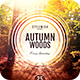 Autumn Woods Flyer - GraphicRiver Item for Sale