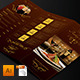 Elegant Restaurant Menu Trifold - GraphicRiver Item for Sale