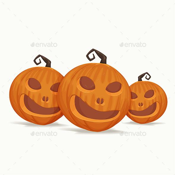 Pumpkins - Objects Vectors