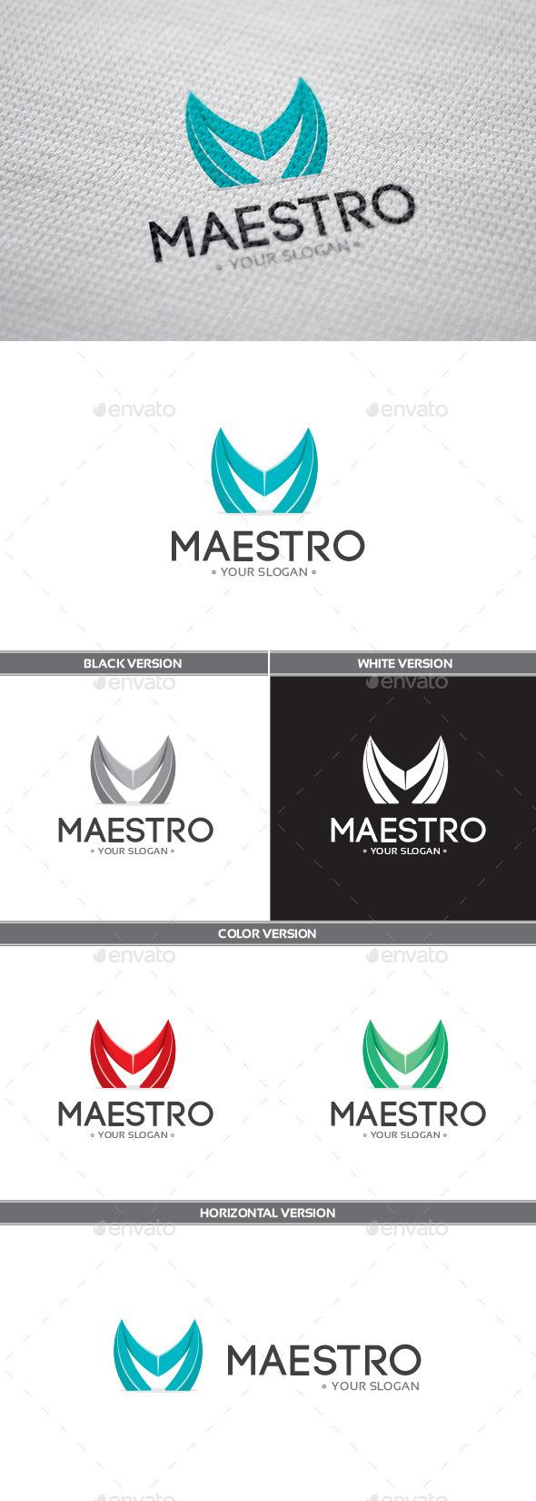 Maestro Logo - Letters Logo Templates