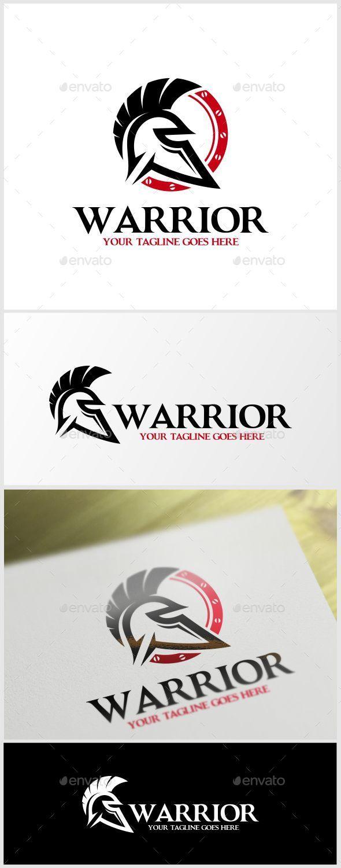 Warrior Logo Template - Humans Logo Templates