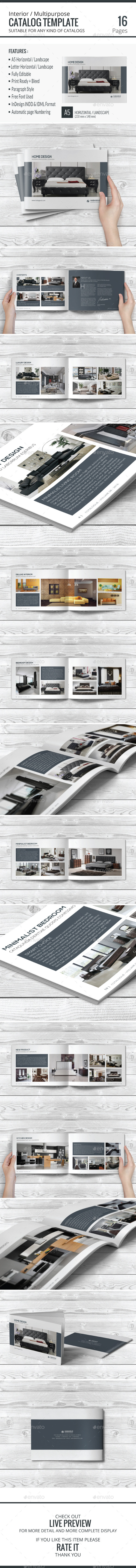 Multipurpose Catalog Template - Catalogs Brochures