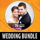 6 in 1 Wedding Event CD Cover Template Bundle