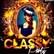 Classy Party Flyer Template - GraphicRiver Item for Sale