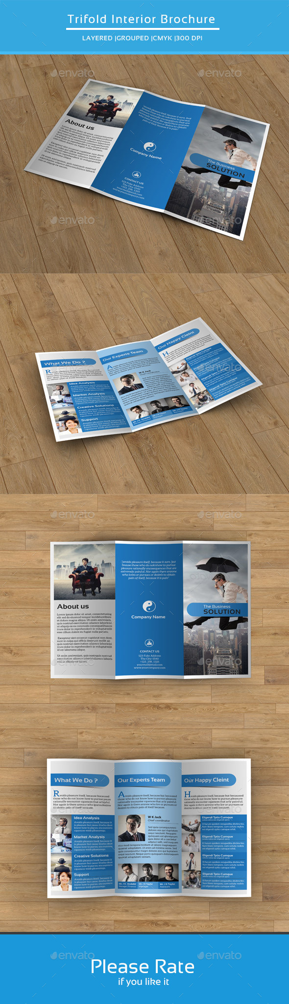 Corporate Trifold Brochure-V173 - Corporate Brochures
