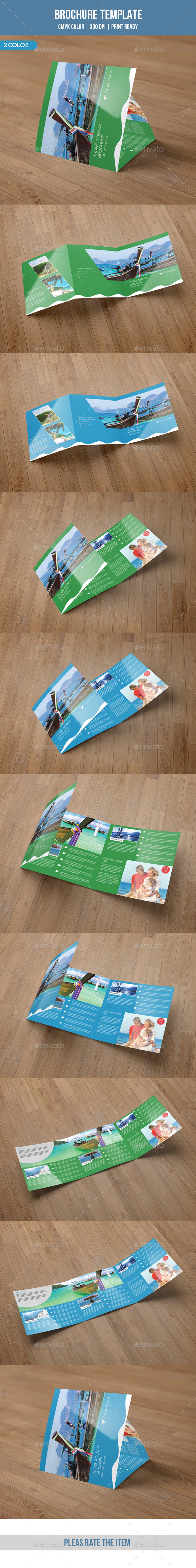 Square Trifold Brochure for Business-V39 - Corporate Brochures