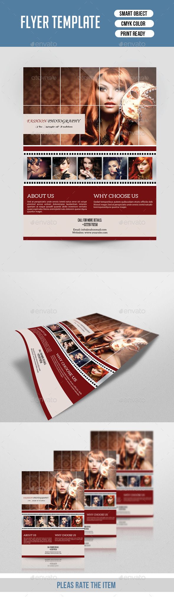 Photography Flyer-V141 - Corporate Flyers