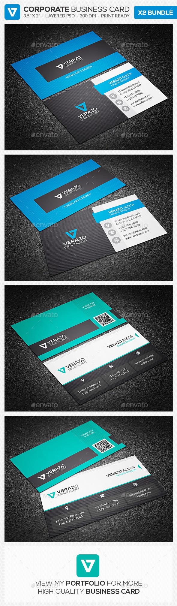 Business Card Bundle 10 - Corporate Business Cards