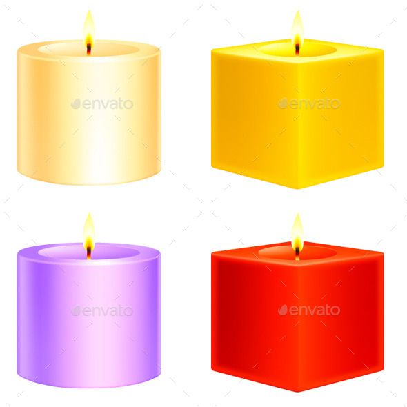 Candles - Objects Vectors