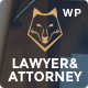 Lawyer & Attorney - Theme for Lawyers Attorneys and Law Firm Nulled