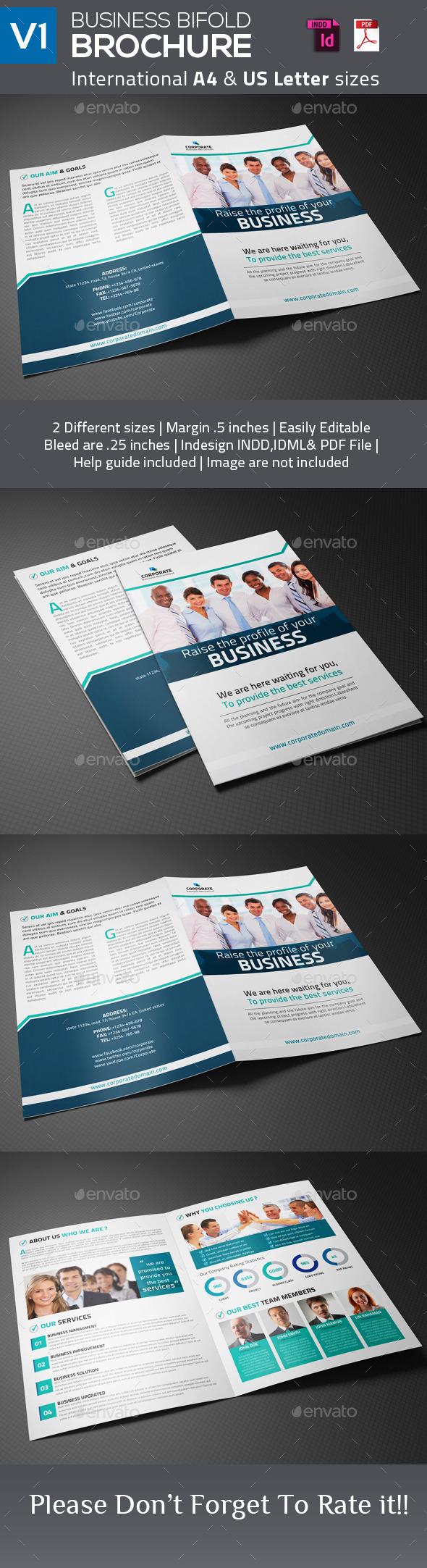 Business Bifold Brochure V1 - Corporate Brochures