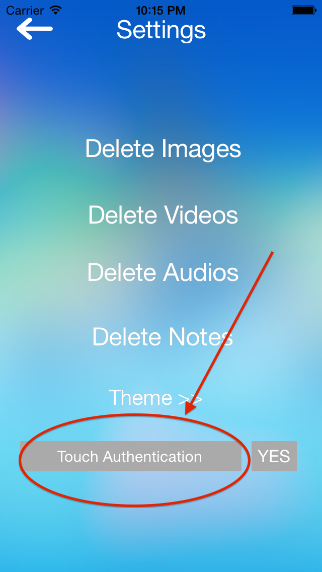 Media Box With Touch ID