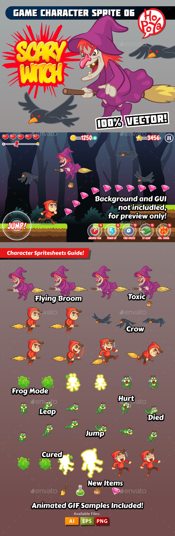 Game Character Sprite 06 - Sprites Game Assets
