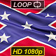 Confederate Battle Flag Close Up - VideoHive Item for Sale