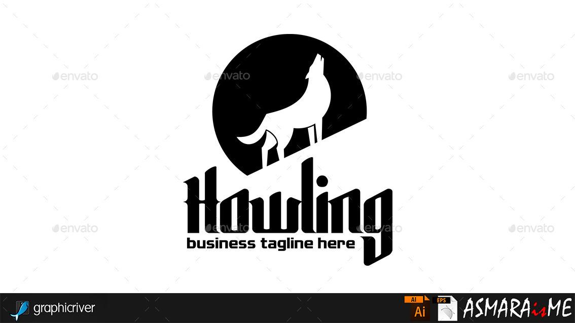 howling - wolf night logoasmaraisme | graphicriver