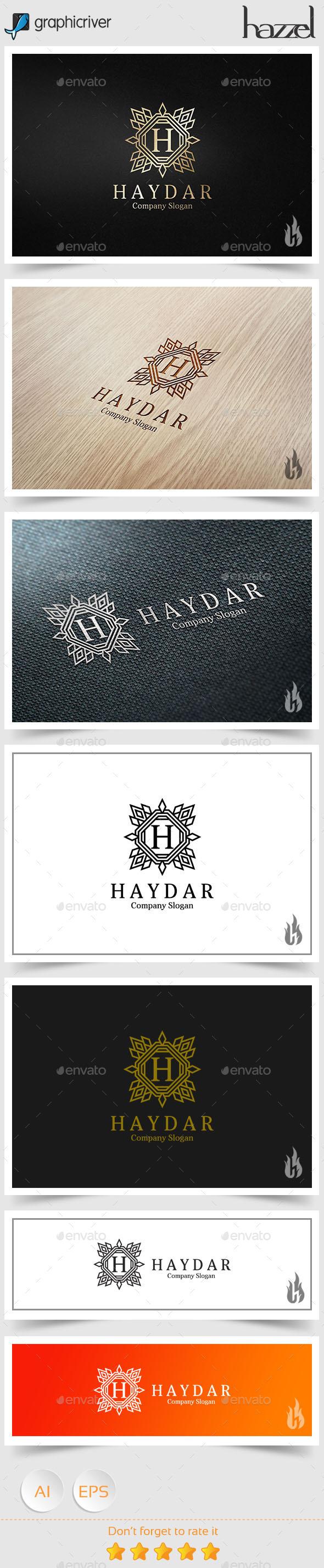 Haydar Logo - Crests Logo Templates