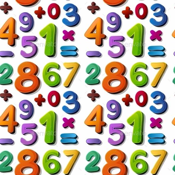 Numbers - Decorative Symbols Decorative