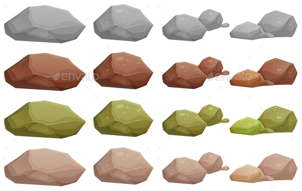 Different Rocks - Landscapes Nature