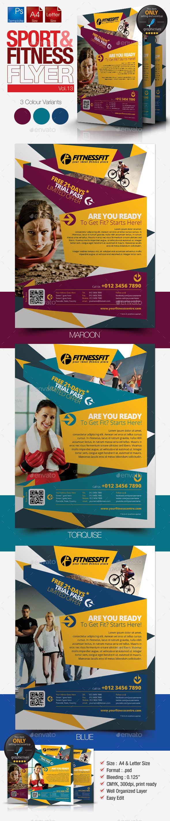 Fitness Flyer Vol.13 - Sports Events