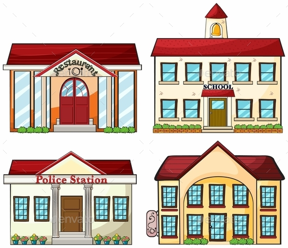 Useful Buildings - Buildings Objects