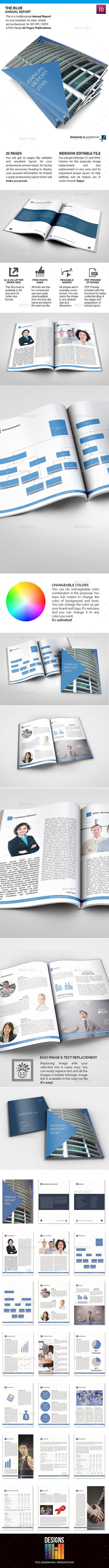 The Blue Annual Report - Informational Brochures