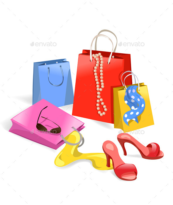 Women Purchase Shopping - Commercial / Shopping Conceptual