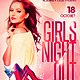 Girls Night Out Flyer plus FB Cover - GraphicRiver Item for Sale