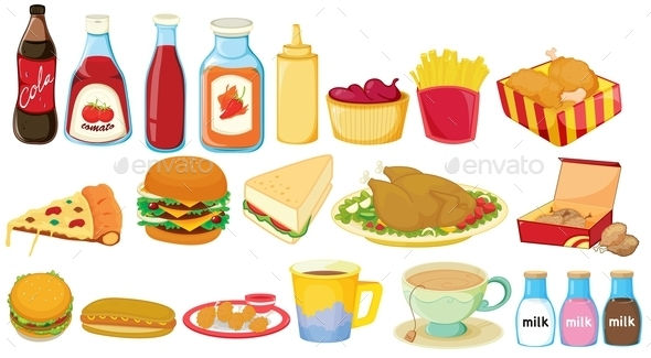 Snack Foods - Food Objects