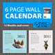 Wall calendar 2011 [6 Page] Print Ready  - GraphicRiver Item for Sale