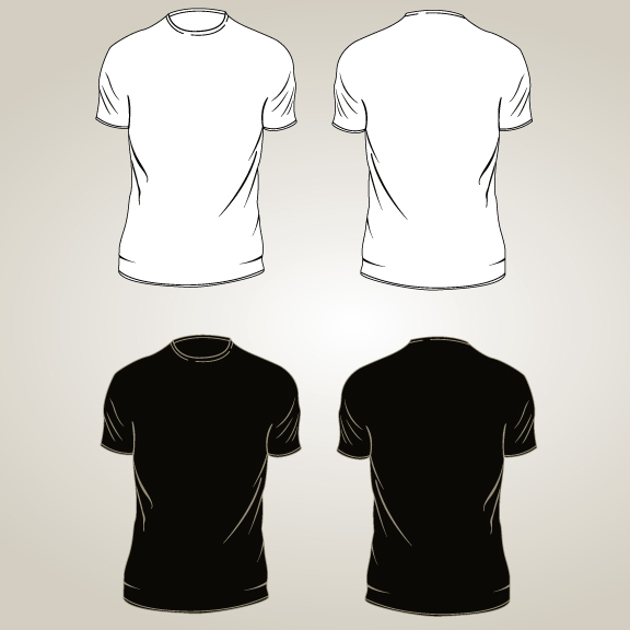 Tee Shirt Oulines - GraphicRiver Item for Sale