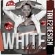White Night Club Flyer