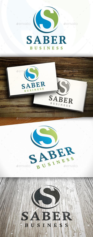 Saber S Letter Logo - Letters Logo Templates