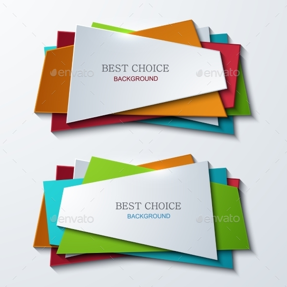 Vector Modern Banners Element Design - Web Technology