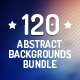 120 Abstract Backgrounds Bundle - GraphicRiver Item for Sale