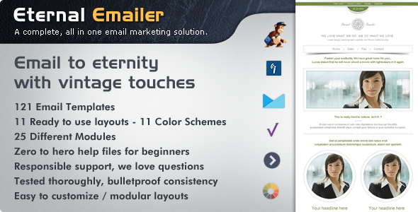 Eternal Emailer HTML Email Template