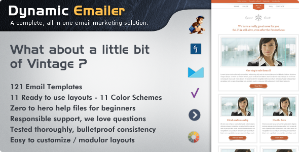 Dynamic Emailer – Premium Email Template